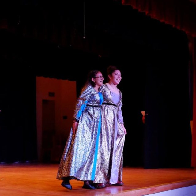 Irvine students perform an unconventional and humorous adaption of popular stories including Cinderella and Snow White!
